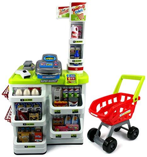 home mega grocery playset - 467×500