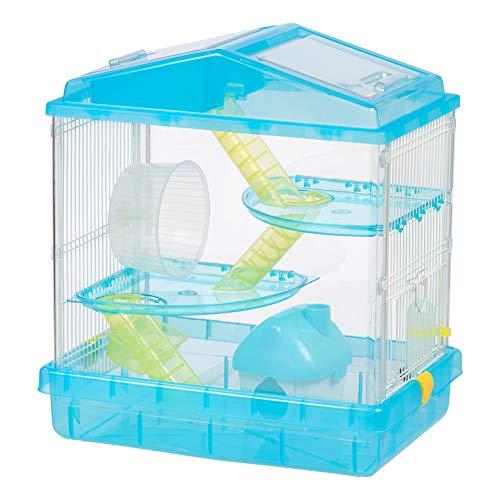 IRIS USA, PHSC-412, 3-Tier Hamster Cage, Blue