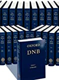 Oxford Dictionary of National Biography Plus Index of Contributors (60 Volumes)