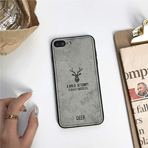 1 piece Fabric Deer Case For iphone XS MAX XR X SE 5 5s 6 6s 7 8 Plus Cloth Art Cover Huawei Mate 10 20 Lite P20 P10 Nova 3 Honor 9 8X]()