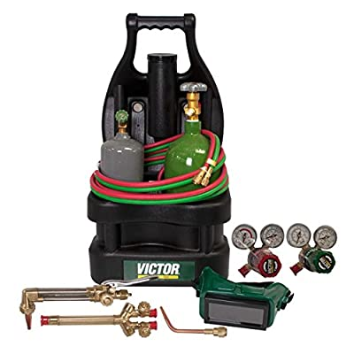 Victor Technologies 0384-0944 Victor G150-100-Cp Tote with Tanks