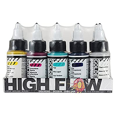 Golden High Flow Drawing Set