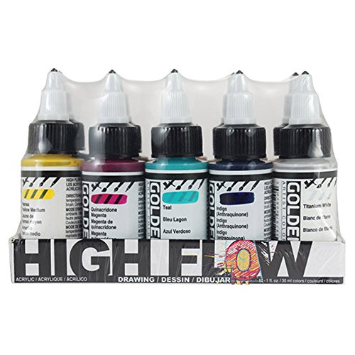 Golden High Flow Drawing Set, ()