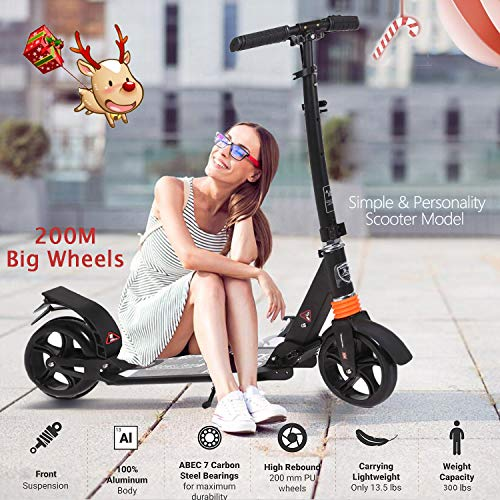 Fast 88 Adult Kick Scooter for Teen Adult Kids Component