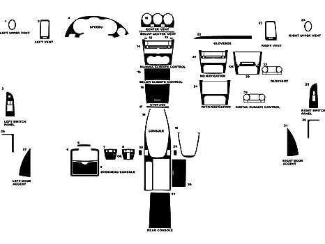 - Carbon Fiber 3D Red Coupe Rdash Dash Kit Decal Trim for Nissan Altima 2007-2013