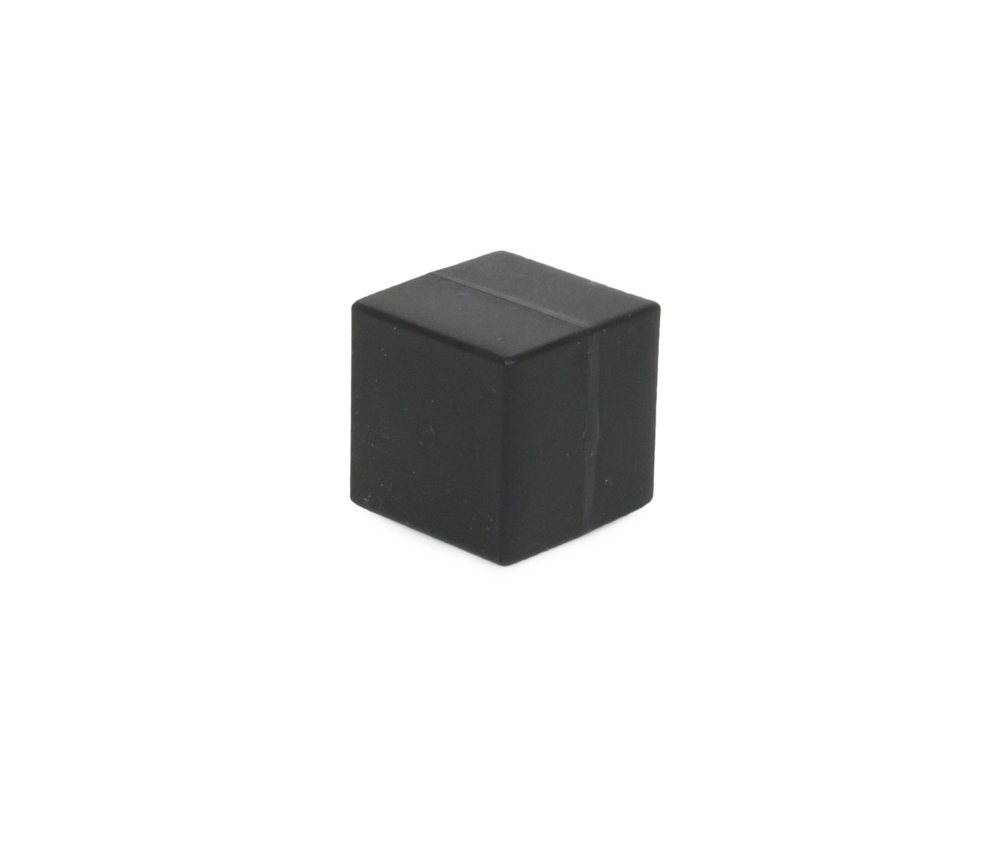 Unbreakable Plastic-Coated N52 Neodymium Cube Magnets, Waterproof, 1 x 1 x 1 inch. 2-Pack. Revitalizaire Strong Permanent NdFeB Rare Earth Magnets Coated with Hard Black Polypropylene by Revitalizaire (Image #2)
