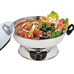 Helperware Electric Yuanyang Hot Pot && Steamboat 30CM W/DIVIDER