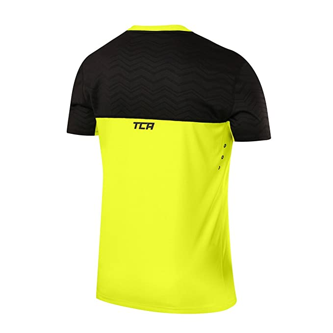 Sporting Goods Tca Hazard Mens Short Sleeve Training Top Activewear Tops Orange