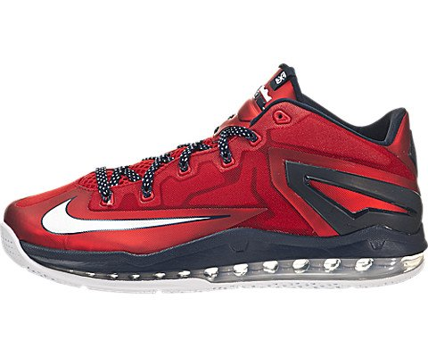 7e1aa40db2cbd5 Galleon - NIKE Max Lebron XI Low Men Sneakers University Red Obsidian White  642849-614 (SIZE  11.5)