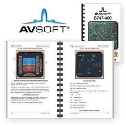 boeing b747 400 qsg quick study guide boeing inc avsoft amazon rh amazon com B747-400 Cargo Boeing 747-400 Lufthansa Seating-Chart