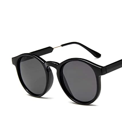 XIAONK Gafas de sol redondas Gafas de sol polarizadas Marco ...