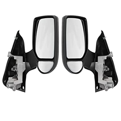 *FORD TRANSIT MK6 MK7 COMPLETE WING DOOR MIRROR MANUAL O//S DRIVER SIDE TRA347