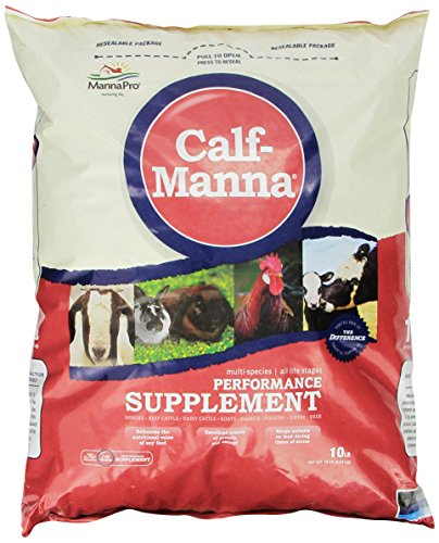 (Manna Pro 0093982232 Calf-Manna Ultimate Multi-Species Performance for Animals, 10-Pound)