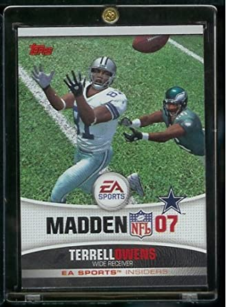 2006 Topps EA Sports Madden NFL 2007   Terrell Owens Dallas Cowboys