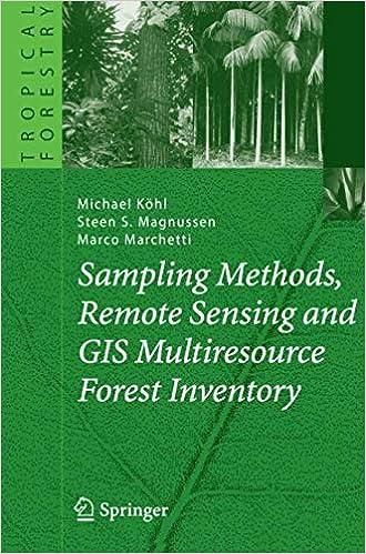 Sampling Methods, Remote Sensing And Gis Multiresource Forest Inventory PDF Descargar