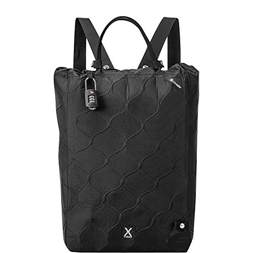 Pacsafe Travelsafe X25 Anti-theft Portable Safe, Black