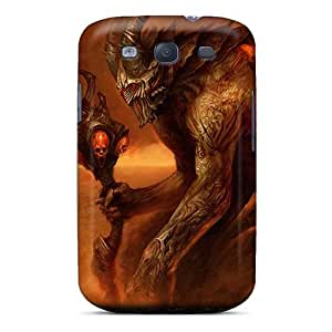 Samsung Galaxy S3 XfG13357LFeF Unique Design HD Morbid Angel Band Image Scratch Protection Hard Phone Cover -MansourMurray