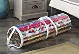 Whitmor Clear Zippered Storage for 25 Rolls Gift