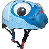 Bell Raskullz Pugsley Pug Blue Helmet with Googly Eyes