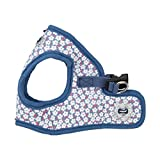 Puppia Authentic Hawthorn Harness B, Large, Blue