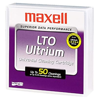 1-pack LTO Ultrium Cleaning Cartuniversal 15-20 Cleaning Cycles from Maxell