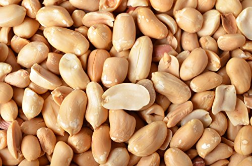 Virginia Peanuts Bulk 50LB Bag Shelled Animal Peanuts for Squirrels, Birds, Deer, Pigs and a Wide Variety of Wildlife, Raw Peanuts / Bulk Nuts / Blue Jays / Cardinals / Woodpeckers / Parrots / Doves (Animal Peanut)