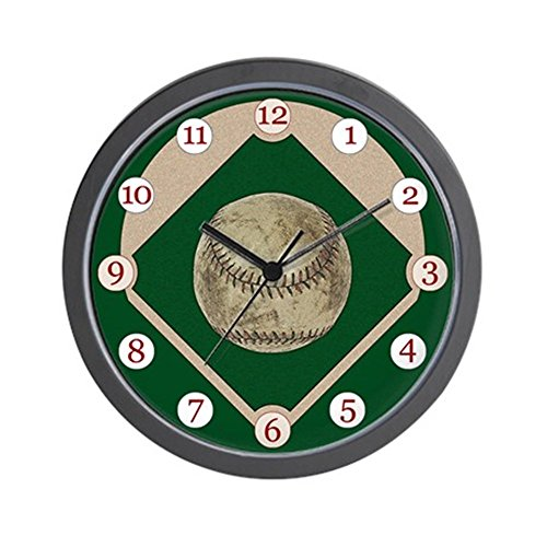 - CafePress - Baseball Clock - Unique Decorative 10