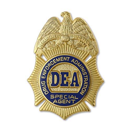 "DEA 1"" SPECIAL AGENT LAPEL PIN U.S. Drug Enforcement"