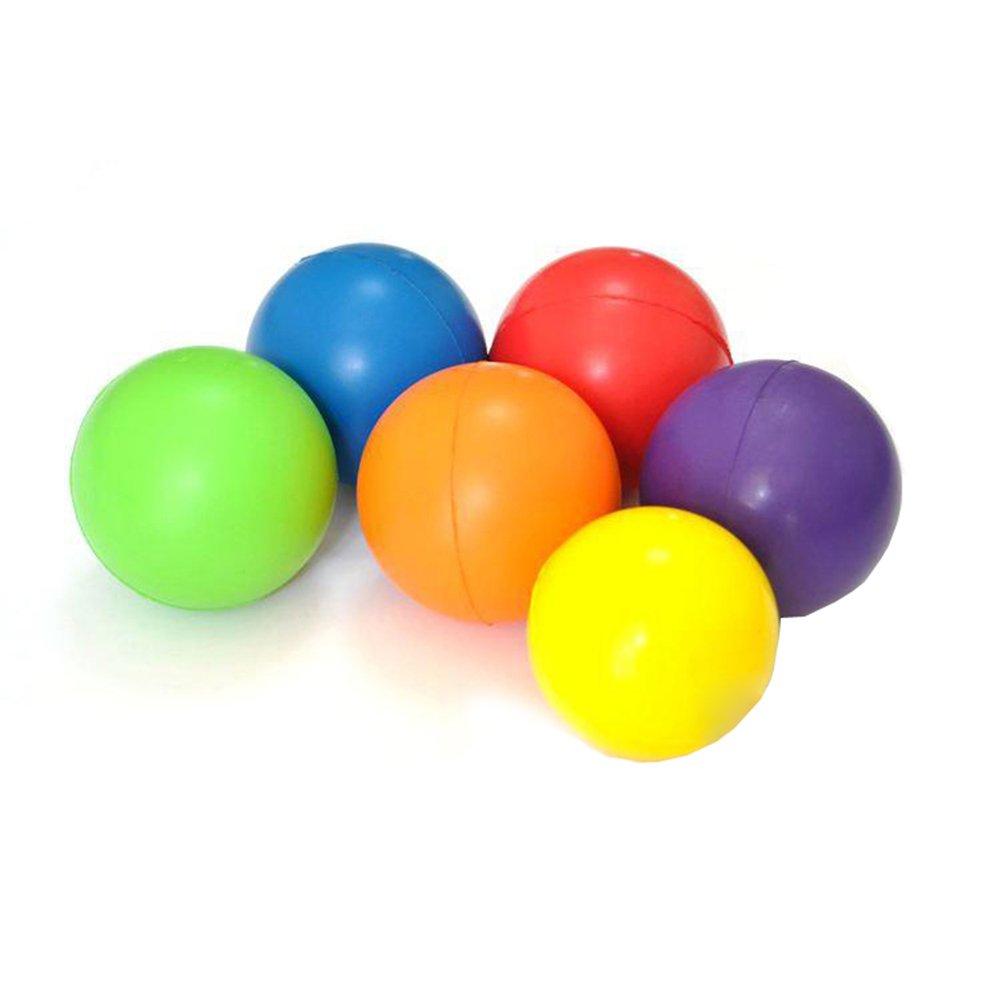 CoURTerzsl - Pelota para aliviar el estrés y el estrés de Baja Resistencia, Juguetes de Ejercicio, Random Color