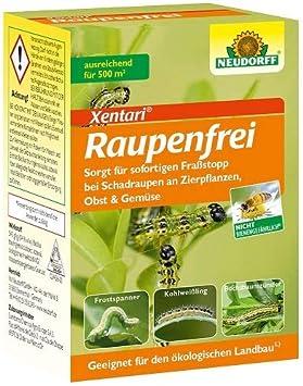 Neudorff Raupenfrei Xentari 25g gegen Buchsbaumz/ünsler an Buchsb/äumen