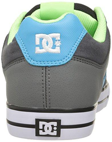 DC Herren Pure Action Sport Sneaker Grau / Grün / Blau