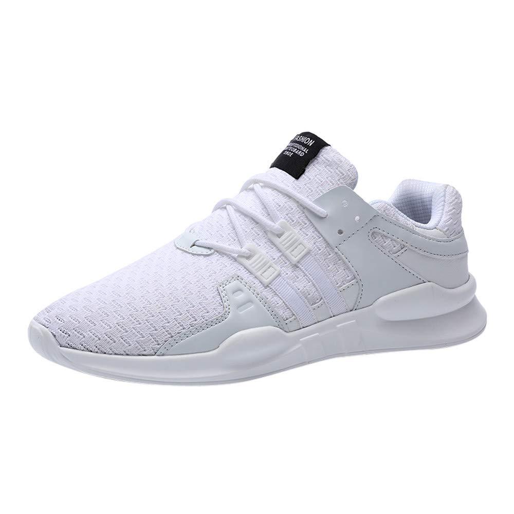 c56b7ddd1cc4f JiaMeng Zapatillas de Deporte Hombres Hombres Hombres Zapatos de Gimnasia  para Correr Zapatos de Gimnasio Transpirables Zapatos Deportivos con  Cordones de ...