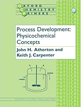 Book Process Development Physicochemical Concepts (Oxford Chemistry Primers)