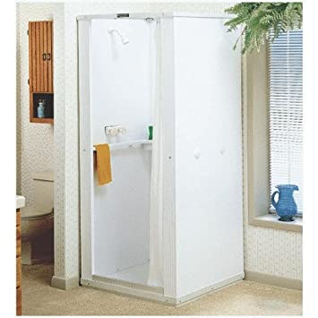Marvelous Mustee 80 , E. L.   32u0026quot; Std Bas Shower Stall