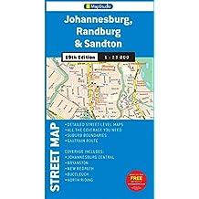 Street map Johannesburg, Randburg & Sandton