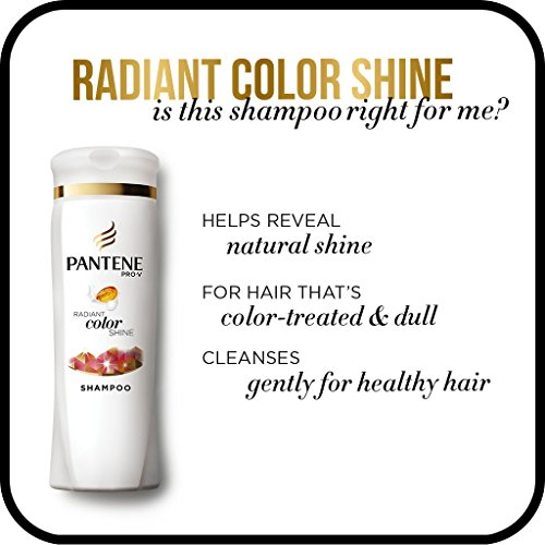 080878042357 - Pantene Pro-V Radiant Color Shine Shampoo, 12.6 fl oz (Pack of 6) carousel main 5