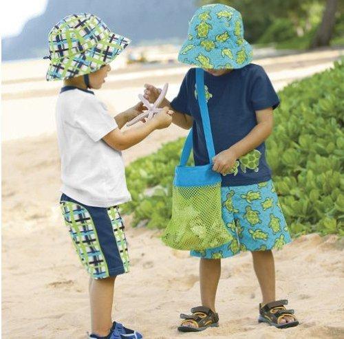 Beach mesh Bags per bambini 'Toy Storage conchiglia borsa XL