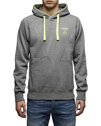 Jack & Jones Men's Fashion Hoodies Penn Grey
