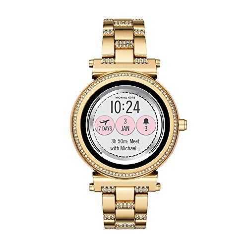 Michael Kors Access, Women's Smartwatch, Sofie Gold-Tone Stainless Steel, MKT5023