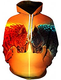 Leopard panther Printed 3D Hoodies Sweatshirts Men Women Pullover Autumn