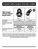 Bicycle Trailer Coupler Attachment - InStep/Schwinn Bike Trailers - 2 Pack|SA074