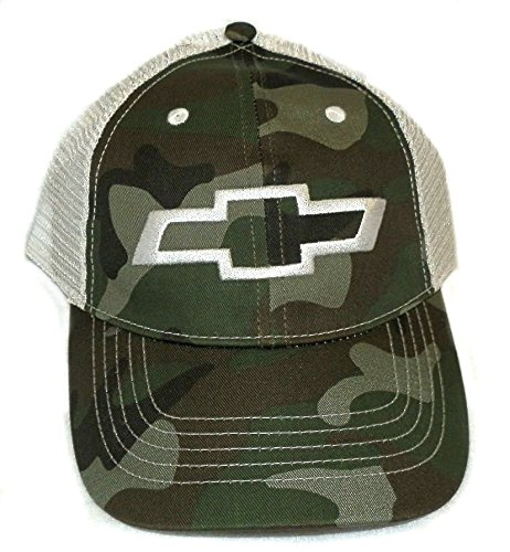 Chevy Chevrolet GM baseball hat cap Adjustable Camo