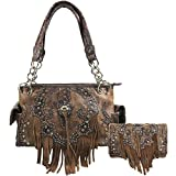 Zelris Western Concho Fringe Two Toned Conceal