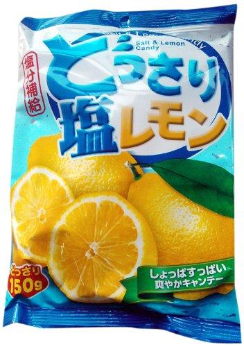 Sze Hing Loong - Salt & Lemon Candy 150g]()