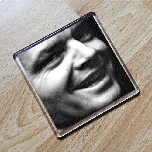 JACK NICHOLSON - Original Art Coaster #js003