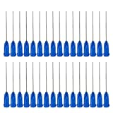 100pack 22G 0.73-38mm Syringe Luer Lock Needles Dispensing Needles/Industrial Syringe Needle/Syringe Blunt Needle tip fit Various Syringe