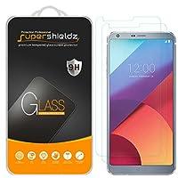[Paquete de 2] Supershieldz para el protector de pantalla de vidrio templado LG G6, antiarañazos, antihuellas, sin burbujas, garantía de por vida de reemplazo