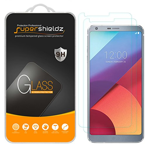 [2-Pack] Supershieldz for LG G6 Tempered Glass...