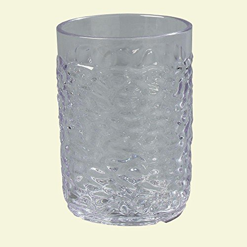 5 oz. SAN Plastic Pebble Optic Tumbler in Clear (Case of (Pebble Optic Plastic Tumbler)