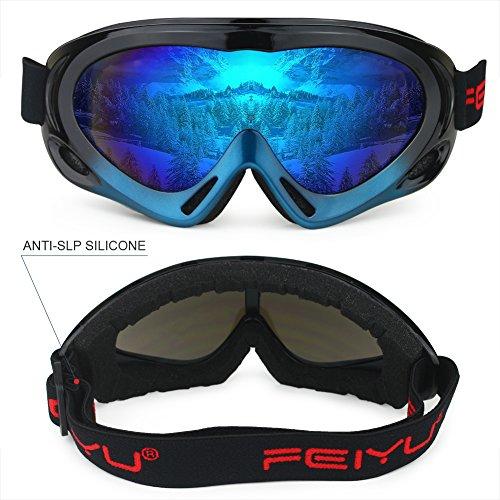 a942cd19701 Best Ski Goggles For Men. Home → Best Ski Goggles For Men. Fantastic Zone  OTG Ski Goggles Over Glasses Ski Snowboard ...